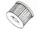 Genuine Honda Oil Filter Element 15410426010
